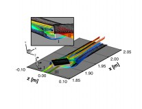This hybrid approach is applied to examine the roughness-induced disturbance field and surface quantities for a variety of flow conditions and roughness configurations